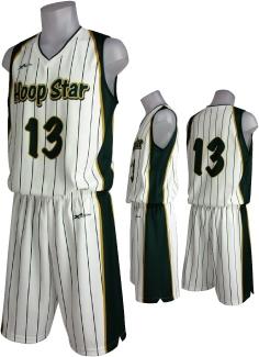 バスケットユニフォーム H-10 タイプ